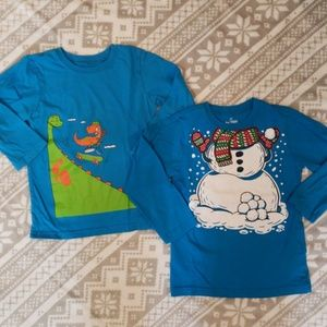 🦕Boy's Children's Place Graphic Tees Size 4T